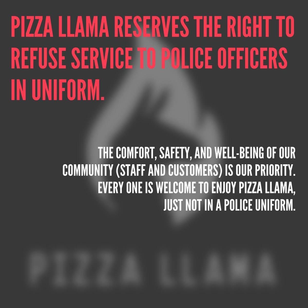 Photo Credit: Facebook/Pizza Llama